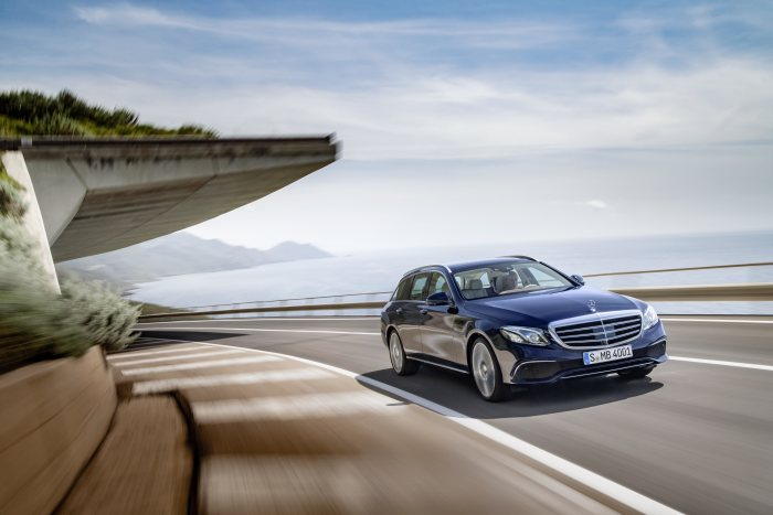 The new Mercedes-Benz E-Class Estate: Game, set and space