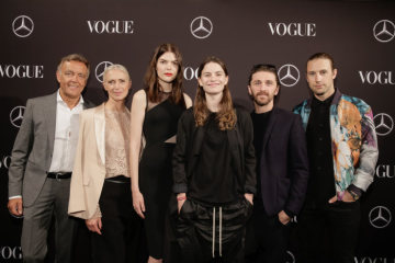 Mercedes-Benz Fashion Commitment Spring/Summer 2017: Mercedes-Benz Fashion Week Berlin: Mercedes-Benz & VOGUE Fashion Night at Borchardt