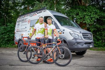 "Mercedes-Benz Sprinter on the road for charity campaign ""Every Mile Counts"""