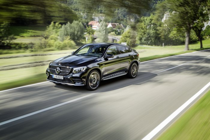 The new Mercedes-AMG GLC 43 4MATIC Coupé: Unique combination of agility, elegance and everyday practicality