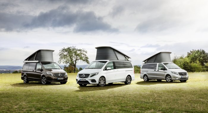 Marco Polo HORIZON – new compact recreational vehicle bearing the Mercedes star
