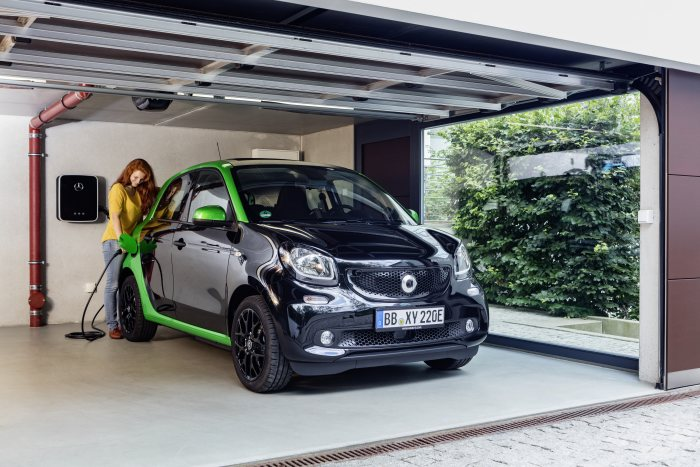 Sales release for smart fortwo and forfour electric drive: Electric urban model ready to go