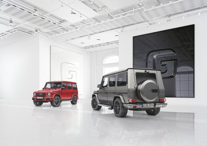 Two unique special models of the off-road icon: The G becomes even more exclusive and individual