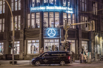 The fashion activities of Mercedes-Benz: Mercedes-Benz continues its commitment to Berlin as a fashion metropolis and becomes partner of the FASHION COUNCIL GERMANY