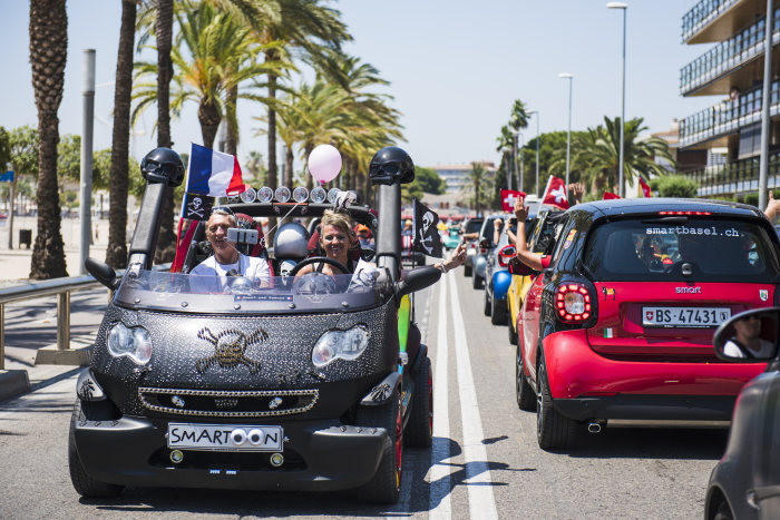 smart times 2017 in Salou: 2.869 smart Fans feierten an der Costa Dorada