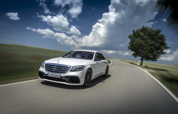 Mercedes-AMG S 63 4MATIC+ and S 65: Update for the performance luxury saloon