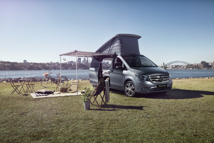 Mercedes-Benz Vans Australia and Airbnb host a special camping experience with Marco Polo ACTIVITY