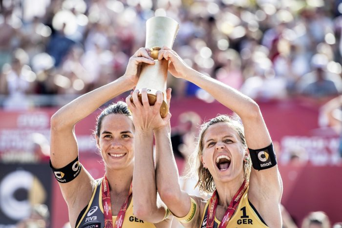 FIVB Beachvolleyball World Tour Finals: Spitzen-Beachvolleyball mit smart in Hamburg