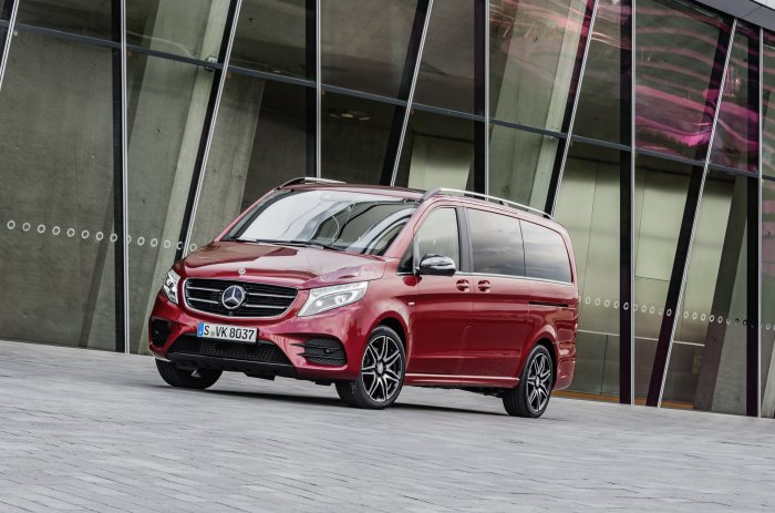 V-Class news at the 67th International Motor Show (IAA): Mercedes-Benz V-Class more successful and attractive than ever