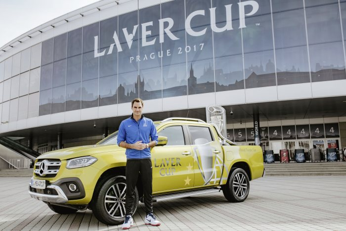 Inaugural edition of the new tennis format with Mercedes-Benz: Mercedes-Benz to become partner of the Laver Cup 2017