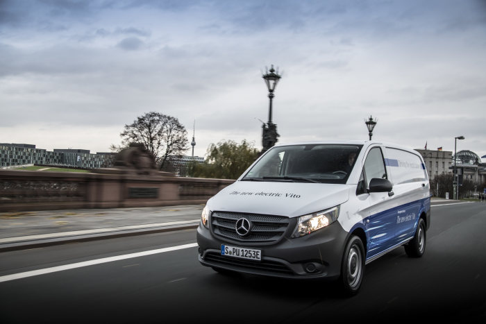 Electric vans from Mercedes-Benz Vans: eVito now available to order; ecosystem for the electrification of commercial fleets