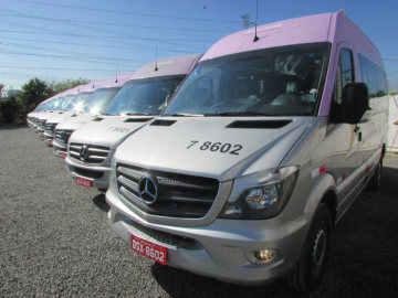 Improvement of movement: 72 Mercedes-Benz Sprinter will support disabled people in São Paulo