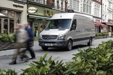 Mercedes-Benz Vans UK crowned Most Reliable Manufacturer while Sprinter retains Most Reliable Van honour