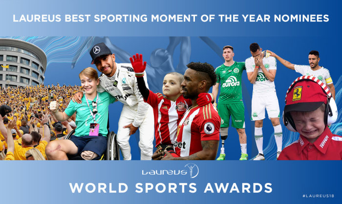 Laureus Best Sporting Moment of the Year 2017: Green light for the final