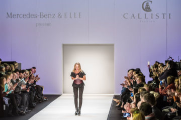 Mercedes-Benz Fashion Engagement 2018: Viennesse label Callisti makes debut at MBFW in Berlin, presented by Mercedes-Benz and ELLE Germany