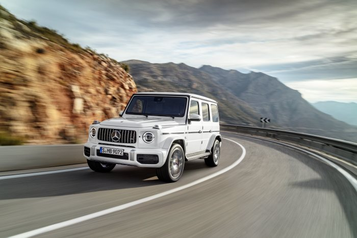 The new Mercedes-AMG G 63: New appearance of the high-performance G-Class
