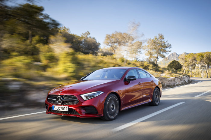 The new Mercedes-Benz CLS: Third generation of the original