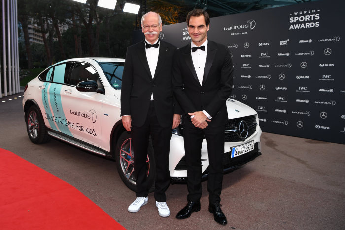 The Laureus goat: Roger Federer becomes greatest of all time by winning fifth and sixth Laureus Awards