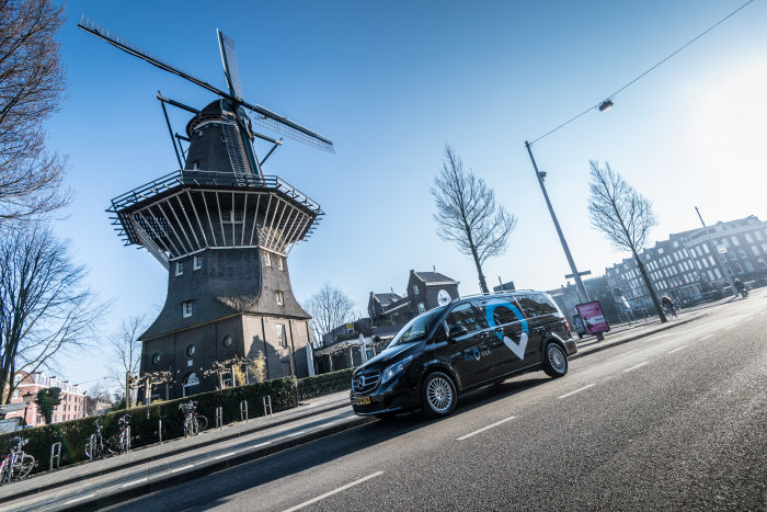 Market entry: ViaVan launches app-based on-demand ridesharing service in Amsterdam