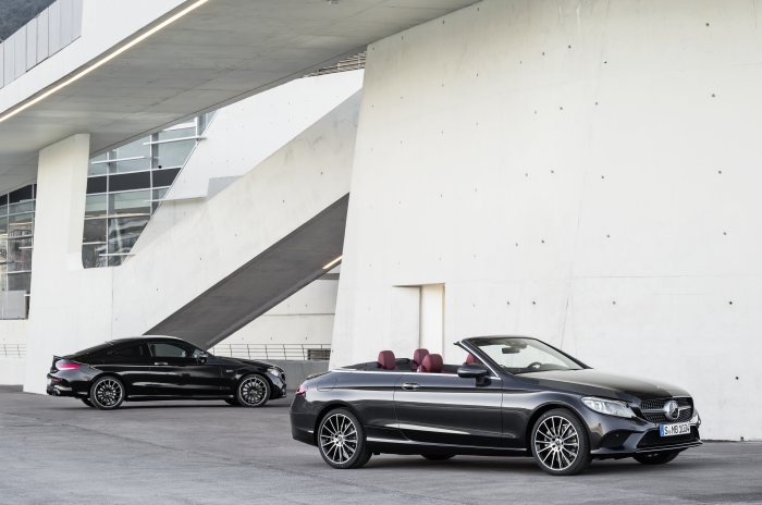 The new C-Class Coupé and Cabriolet: The two-door C-Class models are now even sportier