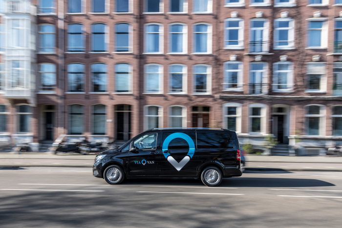 ViaVan launched shared ride service in London
