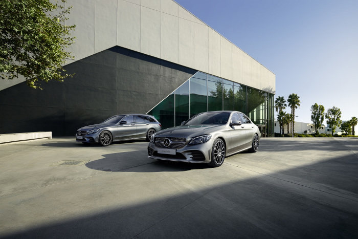 At dealers from July: Start of sales for new C-Class saloon and estate