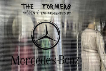 Mercedes-Benz's involvement in fashion at the Hyères festival: 33rd International Festival of Fashion, Photography and Fashion Accessories in Hyères