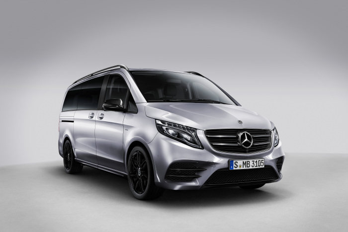 Sales start for the Mercedes-Benz V-Class Night Edition