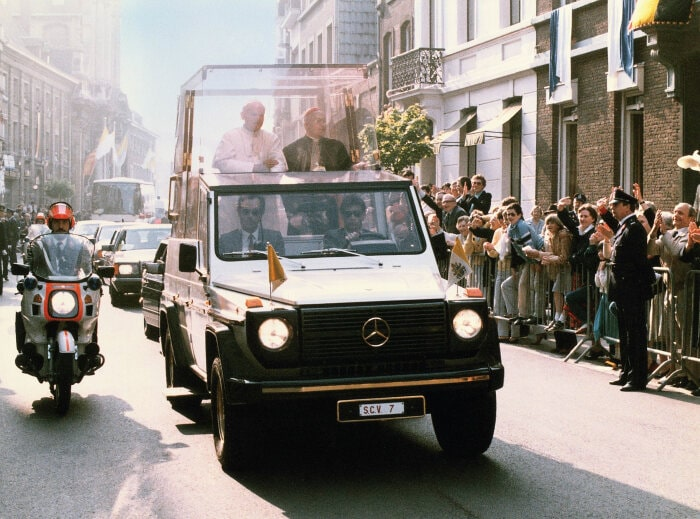 Four decades of G history: Mercedes-Benz G-Class: mastering terrain with an assured sense of style since 1979