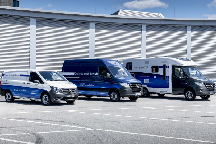 eDrive@VANs next level: Local zero-emissions mobility in practice: eVito and eSprinter fit for urban life
