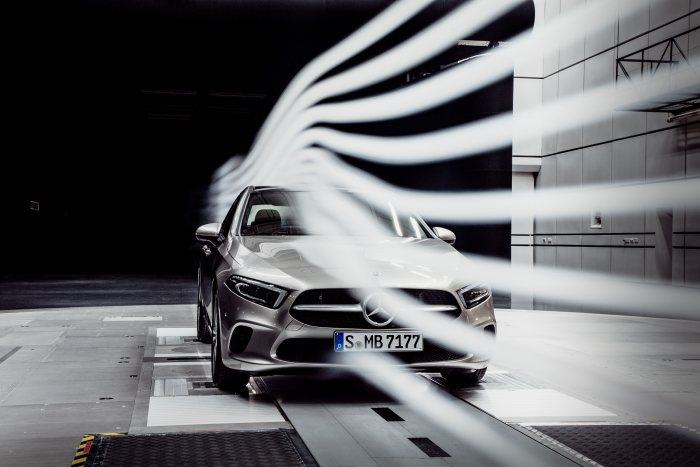 World record defended: The new A-Class Sedan: none is more aerodynamic