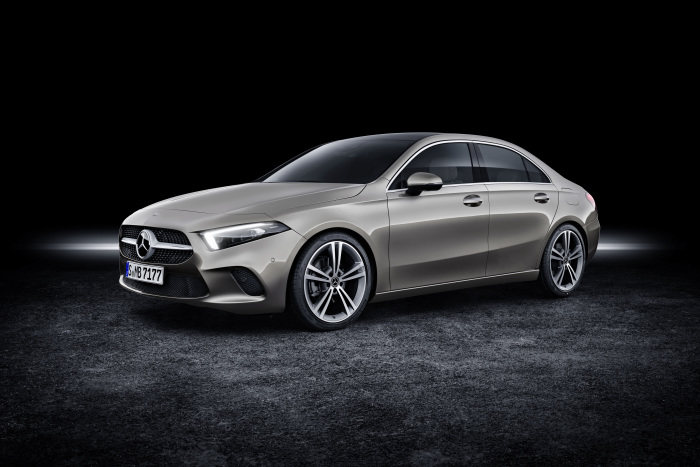 New A-Class Sedan: Compact entry into the world of Mercedes-Benz premium sedan cars