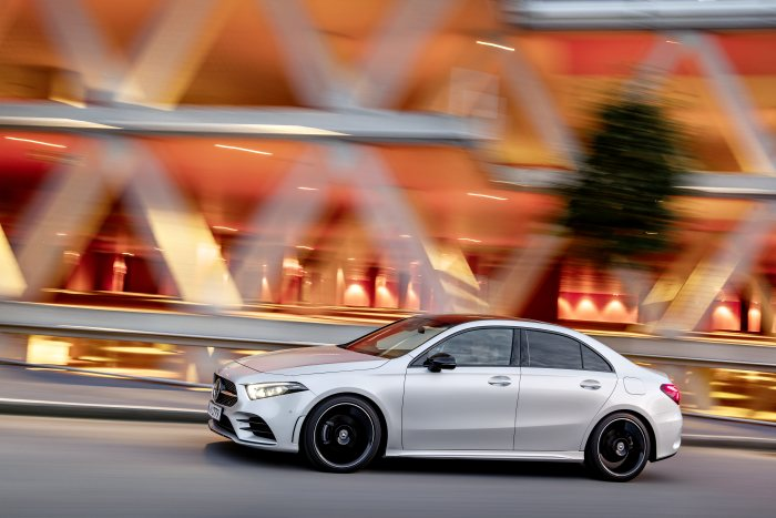 First vehicles will be in the showrooms in early 2019: The new A-Class Saloon is now available for ordering