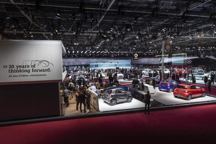 smart at the Paris Motor Show 2018: Electric, urban, unconventional