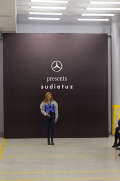 Mercedes-Benz presents Turkish label Sudi Etuz at Mercedes-Benz Fashion Week Tbilisi