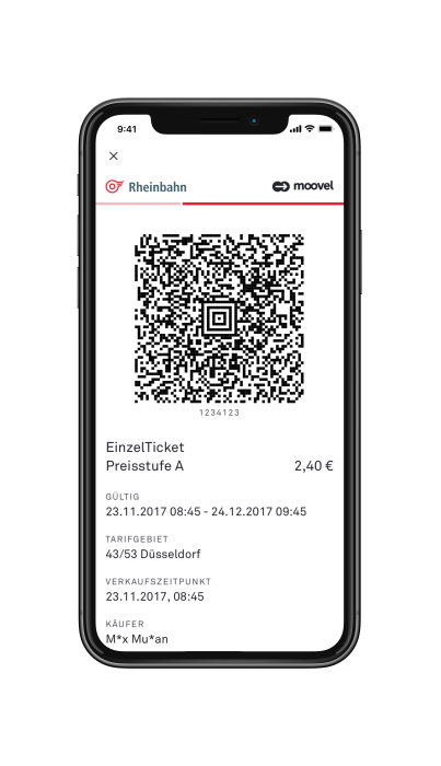 "New App ""Mobil in Düsseldorf"": Rheinbahn and moovel ease access to mobility"