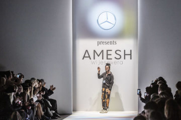 Mercedes-Benz's fashion involvement autumn/winter 2019: Mercedes-Benz Fashion Talents: Amesh Wijesekera at MBFW