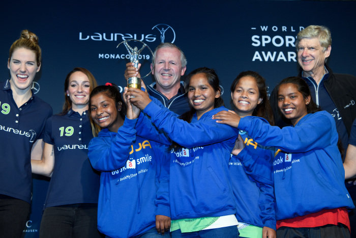 Indian girls' sports programme wins Laureus Sport for Good Award: Stellar moment in Mercedes-Benz's social commitment