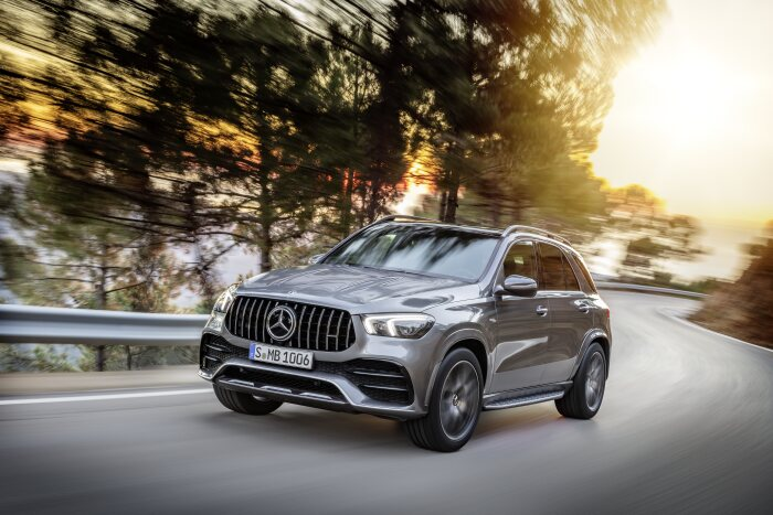 The new Mercedes-AMG GLE 53 4MATIC+: The SUV trendsetter now with even more power and precision