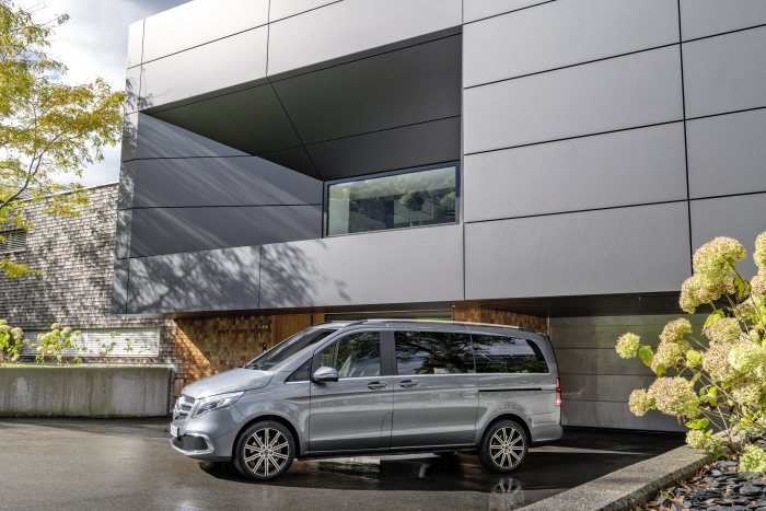 Mercedes-Benz Vans: The new V-Class – now available to order
