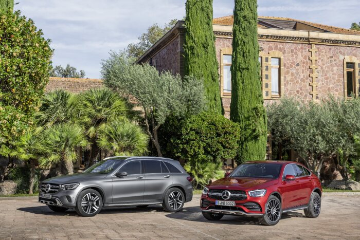 Market launches to begin in July 2019: Mercedes-Benz GLC and GLC Coupé available for ordering now