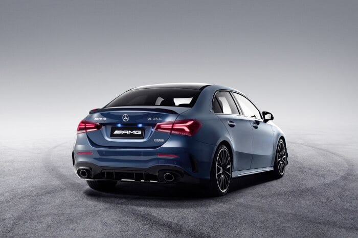 The new Mercedes-AMG A 35 L 4MATIC: More space for all occasions – exclusively for the Chinese market