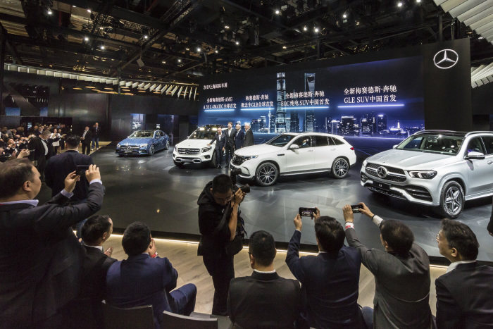 Mercedes-Benz Cars at Auto Shanghai 2019: A Plethora of Premieres at the 18th Auto Shanghai
