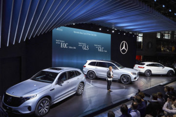 Mercedes-Benz Cars at the 2019 New York International Auto Show: Stunning appearance with three world premieres