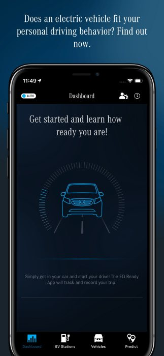 eDrive@VANs ecosystem: Transparent advice at any time – major update for the eVan Ready App from Mercedes-Benz Vans