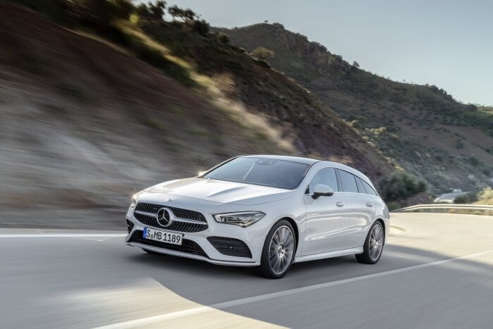 Deliveries are set to commence in September: The new CLA Shooting Brake can now be ordered