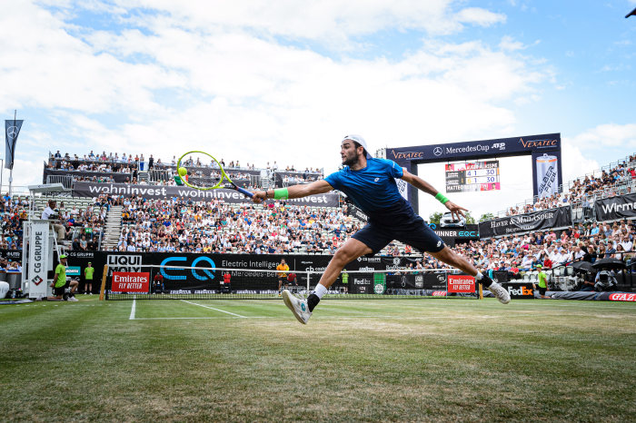 Mercedes-Benz in tennis: Electrifying final at the MercedesCup