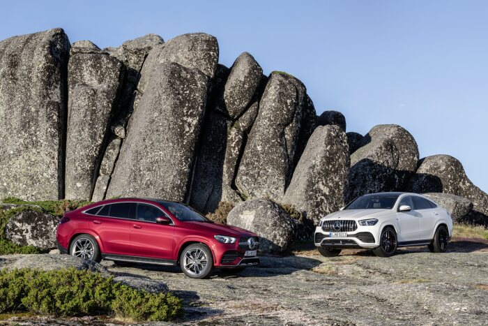 New: Mercedes-Benz GLE Coupé and Mercedes-AMG GLE 53 4MATIC+ Coupé: More luxury, more coupé
