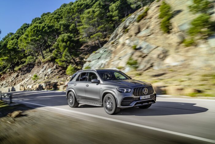 Mercedes-AMG GLE 53 4MATIC+ available at dealers from November: Powerful SUV trendsetter can now be ordered