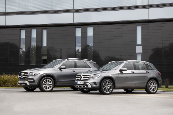 Mercedes-Benz GLE 350 de 4MATIC and GLC 300 e 4MATIC: New third-generation plug-in hybrids: The next jump in operating range